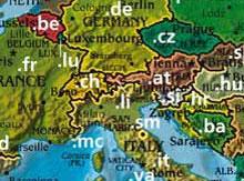 Ausschnitt Domain-Karte